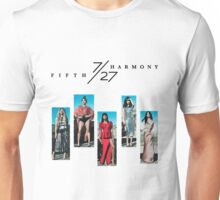 FIFTH HARMONY THE 7/27 TOUR 2016  Unisex T-Shirt