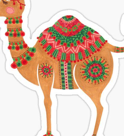 The Ethnic Camel Sticker