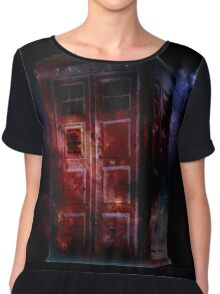 All of Space and Time Chiffon Top
