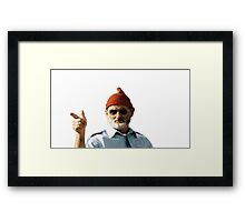Bill Murray - The Life Aquatic non pixel  Framed Print