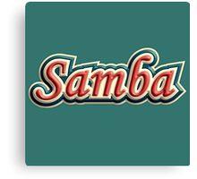 colorful vintage samba Canvas Print