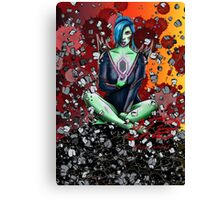 The Rock Witch Canvas Print