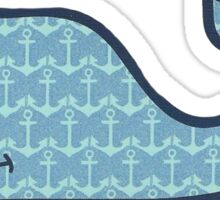 Vineyard Vines - Anchors Sticker