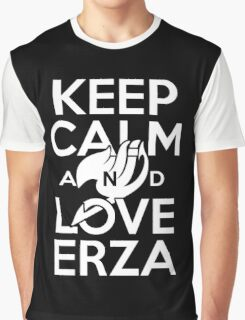 Keep Calm and Love Erza Graphic T-Shirt