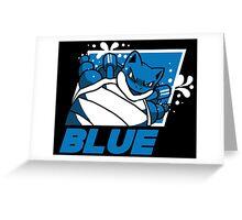 POKEMON BLUE VERSION Greeting Card