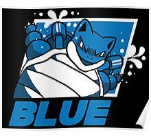 POKEMON BLUE VERSION Poster