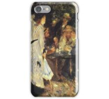 Renoir Auguste - In The Garden 1885 iPhone Case/Skin