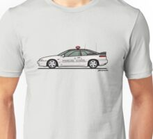 Alcyone SVX Subaru Kenkyo Test & Development Center Pace Car Unisex T-Shirt