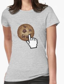 Cookie Clicker! Womens Fitted T-Shirt