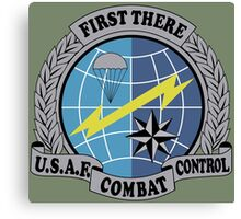 United States Air Force Combat Control Canvas Print