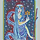 Tarot The Hermit impressions by redqueenself