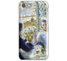 Renoir Auguste - Lunch At The Restaurant Fournaise (The Rowers Lunch)  iPhone Case/Skin