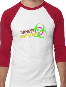 Danger Biohazard Men's Baseball ¾ T-Shirt