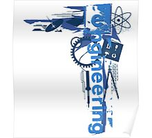 Engineering Shirt Poster