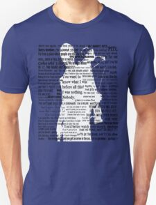 Daryl Dixon Quotes The Walking Dead TWD Vintage Distressed Typography Graphic Norman Unisex T-Shirt