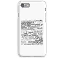 Daryl Dixon Quotes The Walking Dead TWD Vintage Distressed Typography Graphic Norman iPhone Case/Skin