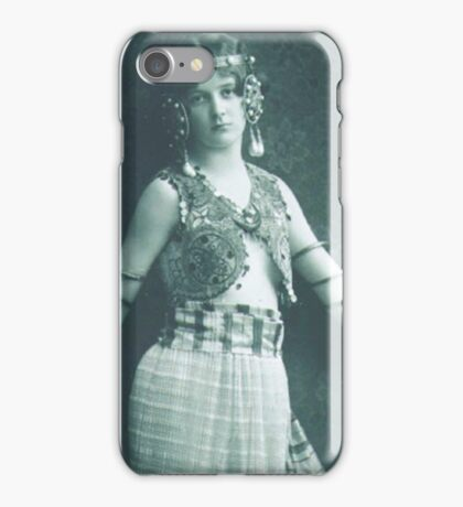 Vintage Dancing Girl classic photograph iPhone Case/Skin