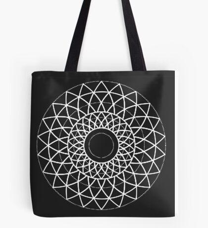 Geometric Petals Tote Bag