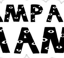 Champagne Mami Views Sticker