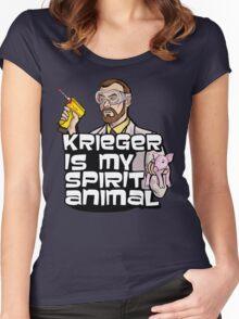 Krieger is my Spirit Animal Women's Fitted Scoop T-Shirt