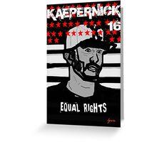 equal rights t-shirt Greeting Card