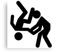 judo - Aikido Canvas Print