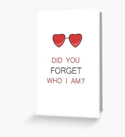 MR ROBOT DARLENE Greeting Card