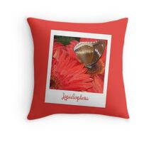 "Polaroid ""Lepidoptera"" Throw Pillow"