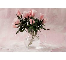 Godetia Bouquet Photographic Print
