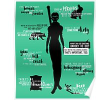 Dragon Age - Merrill Quotes Poster