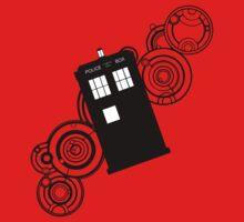 doctor who tardis r One Piece - Short Sleeve