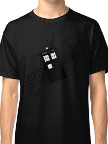 doctor who tardis r Classic T-Shirt