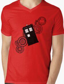 doctor who tardis r Mens V-Neck T-Shirt
