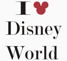 I Love Disney World by OvertPictures