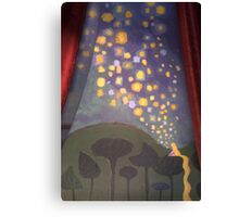 The Floating Lights Canvas Print