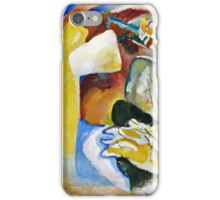 Vassily Kandinsky - Study For Painting With White Form1913  iPhone Case/Skin