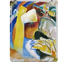 Vassily Kandinsky - Study For Painting With White Form1913  iPad Case/Skin
