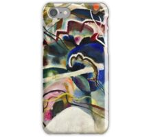 Vassily Kandinsky - Painting With White Border Moscow  iPhone Case/Skin