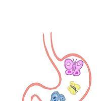 Tummy butterflies by kpoplace