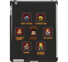 8-bit Mortal Kombat 'Megaman' Stage Select Screen iPad Case/Skin