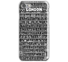 LONDON Small World London iPhone Case/Skin