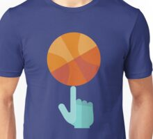 Basketball Spin Icon Unisex T-Shirt