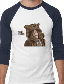 Fur Sure - Workaholics Men's Baseball ¾ T-Shirt