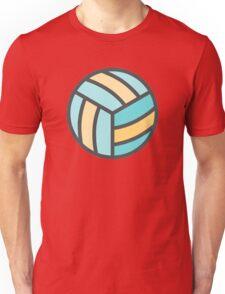 Volleyball Art Icon Unisex T-Shirt