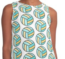 Volleyball Art Icon Contrast Tank