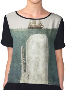 The Whale  Chiffon Top