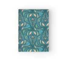 Elegant wedding floral rustic beautiful stylish pattern Hardcover Journal