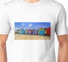 Brighton Beach Houses, Melbourne Unisex T-Shirt