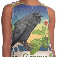 Black Crow and Figs Constellation Corvus and Hydra Contrast Tank