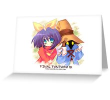 Carol Eiko & Vivi Greeting Card